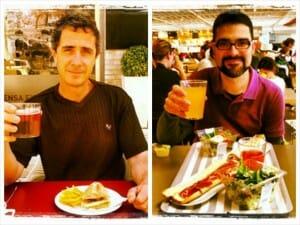 Javier Cabrera y Óscar Oncina