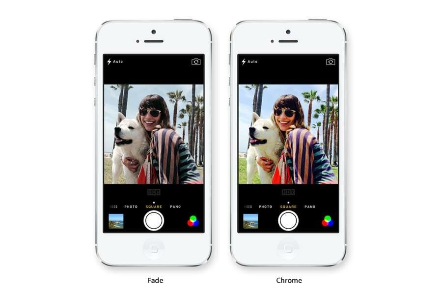 Los filtros de la nueva c mara iphone de ios 7 - Filtros para la cal ...