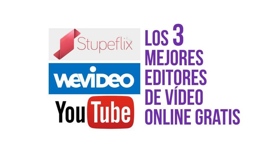 Edita vídeos gratis con estos 3 fantásticos editores de vídeo online