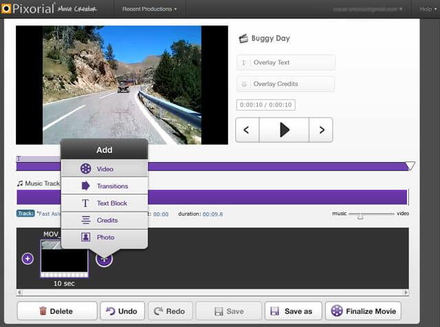 Editor de video online gratis sin registrarse