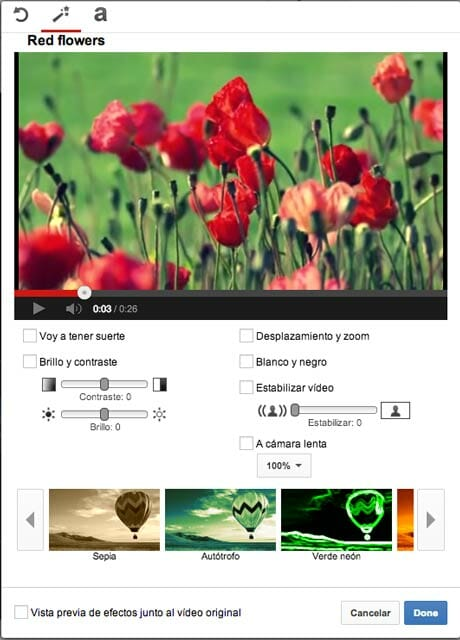 VIdeo Editor YouTube - Editores de video online gratis