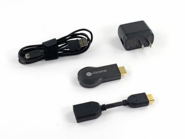 Chromecast lleva en la caja lo suficiente como para poder conectarte en cuanto lo tengas en tu casa