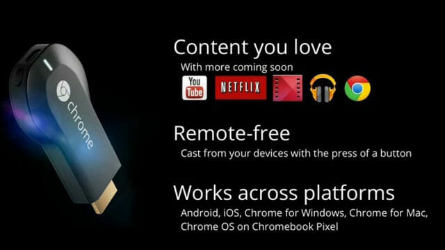 Funciones actuales del Chromecast de Google