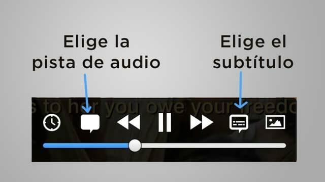Controles de reproducción del nuevo reproductor VLC