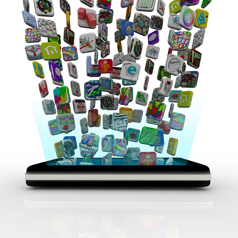 Buscar Aplicaciones en el App Store o en Google Play, tarea difícil