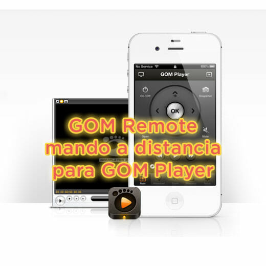 GOM Remote el mando a distancia de GOM Media Player