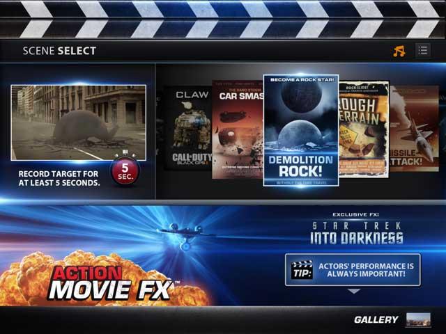 Efectos especiales con Action Movie FX para iOS: iPad, iPhone e iPod Touch