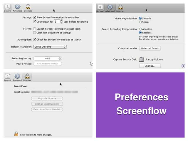 Cómo capturar la pantalla con Screenflow