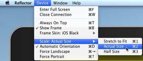 Elige el tamaño adecuado de tu iPad en el ordenador