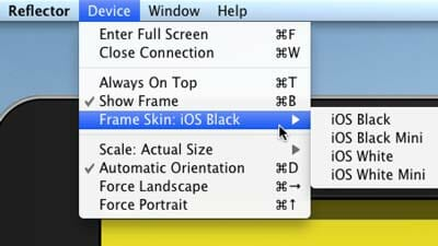 Para que la apariencia de du iPad en pantalla sea la misma que tu iPad físico