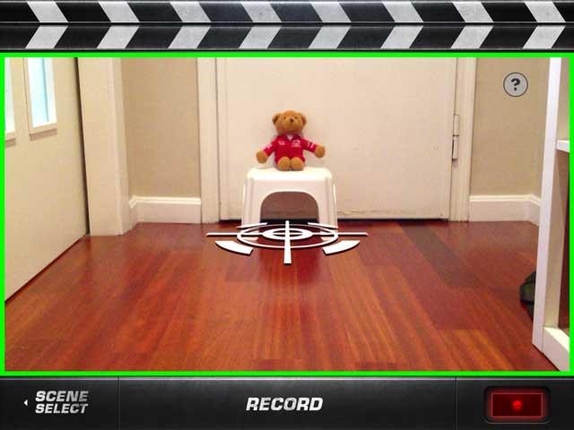 Action Movie FX con el marco verde ya hemos grabado suficiente