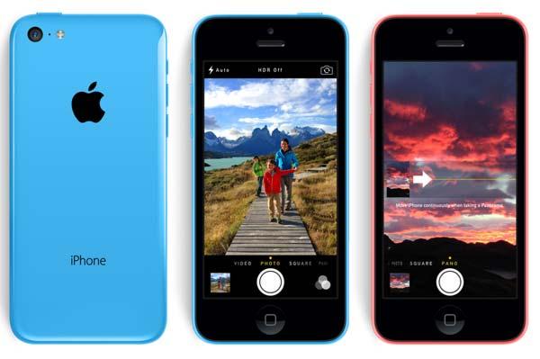 nueva camara iPhone 5C