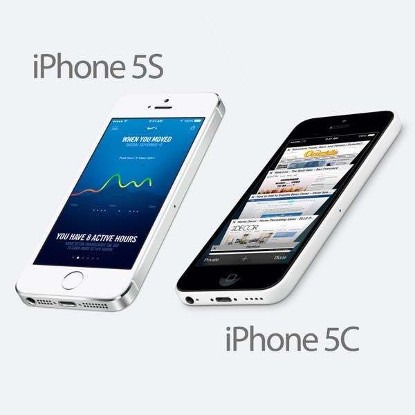 En colores claros y oscuros la cámara iPhone 5S