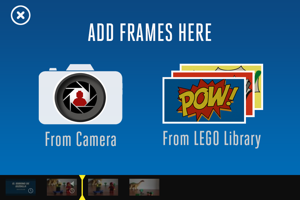 Animación con Lego