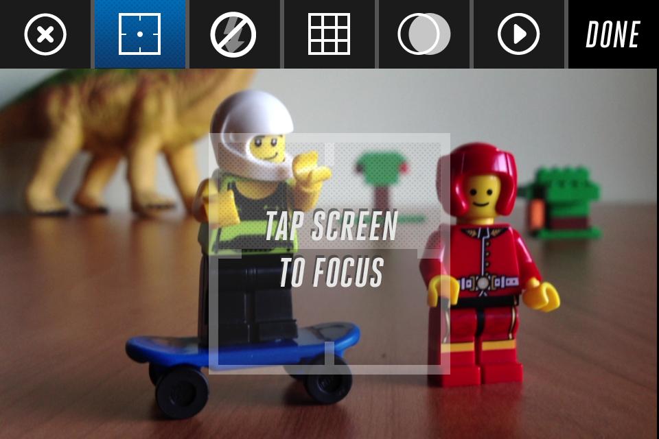 Enfocar con Lego Movie Maker