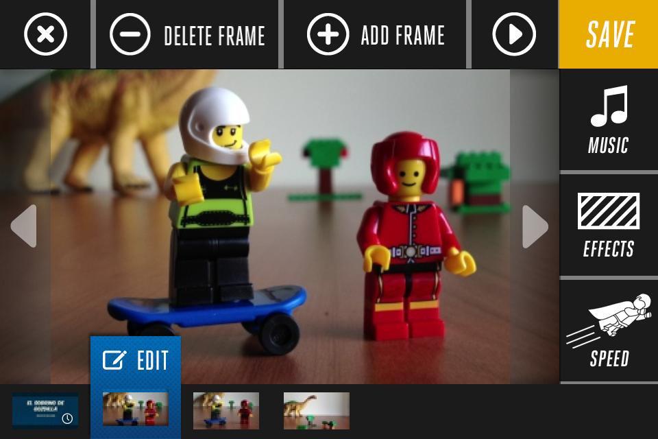 Postproducción con Lego Movie Maker
