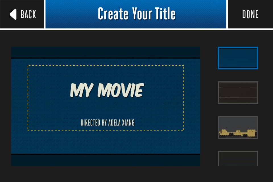 Titular con Lego Movie Maker