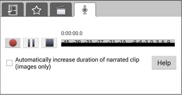 VideoPad editor de vídeo para Android