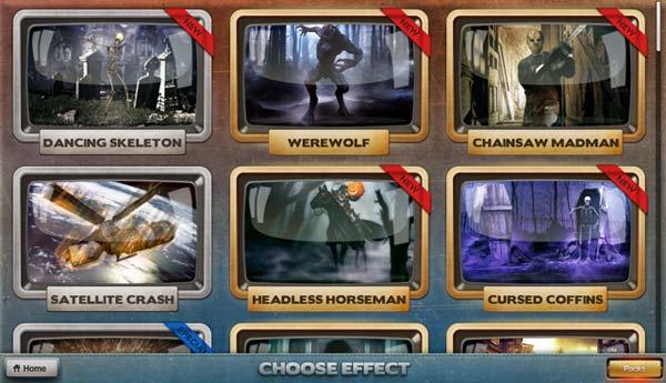 Los seis primeros efectos disponibles en la galería de efectos de FX Guru