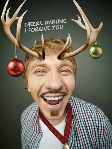 aplicación navideña