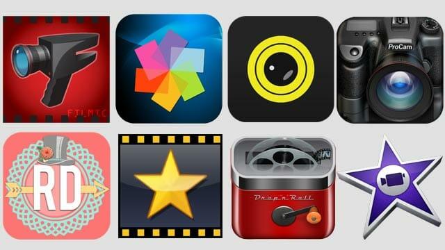 Regala las mejores apps para hacer vídeo con un smartphone