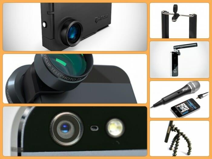Regala los mejores accesorios para hacer vídeo con un smartphone