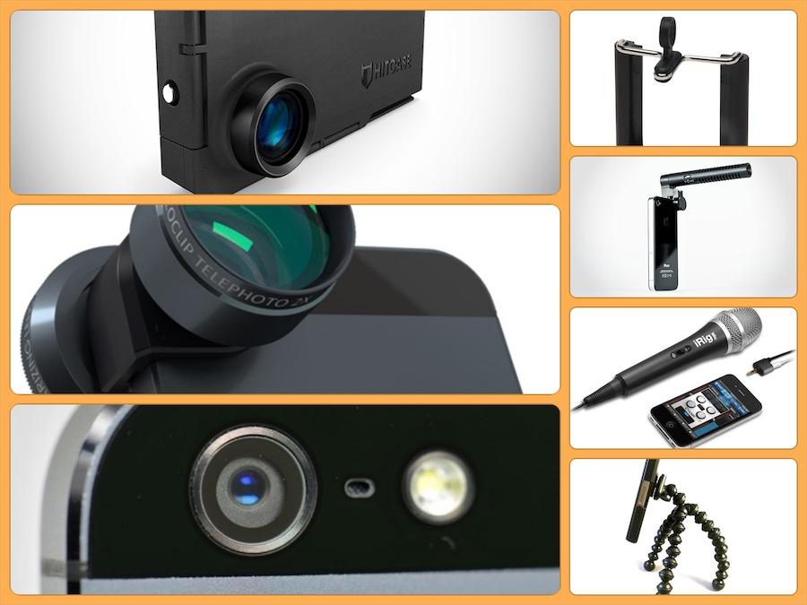 Accesorios para grabar video con smartphones