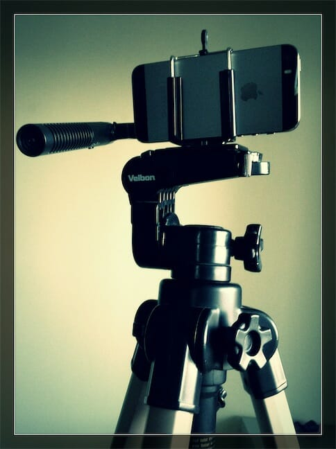 iPhone-5s-en-tripode