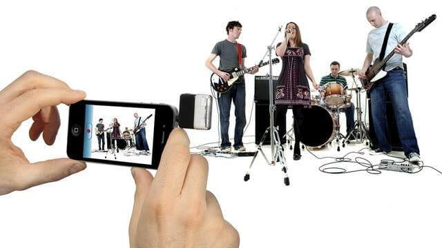 Grabar audio con dispositivos móviles iRigCast