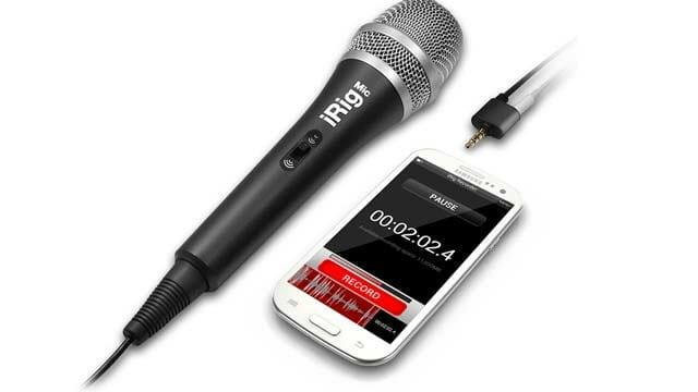 Grabar audio con dispositivos móviles Android - Samsung