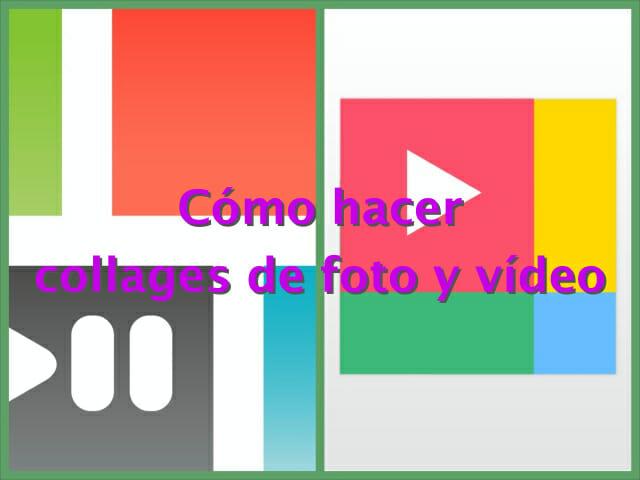 C mo hacer collages de fotos y v deos el taller audiovisual - Como hacer un collage de fotos a mano ...