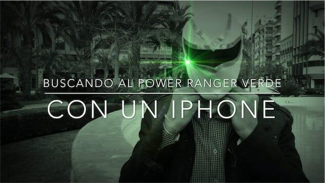 Buscando al Power Ranger Verde
