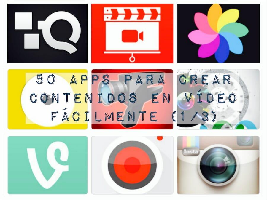 50 aplicaciones de video para crear contenidos fácilmente (1/3)