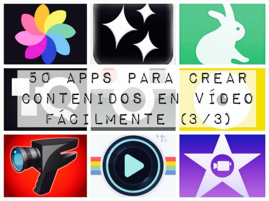 50 aplicaciones para crear contenidos en vídeo fácilmente (3/3)