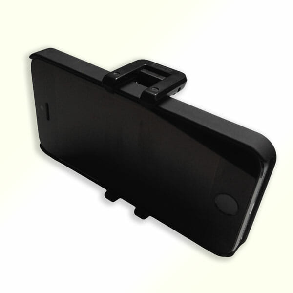 iPhone en GripTight Mount de Joby - VideoReview en el Taller Audiovisual