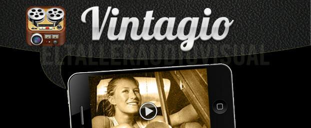 """Vintagio, edición de video """"retro"""" para iPhone"""
