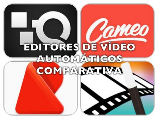 Comparativa Editores de Vídeo