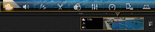 Posibilidades que ofrece la app Kinemaster para editar el vídeo en Android