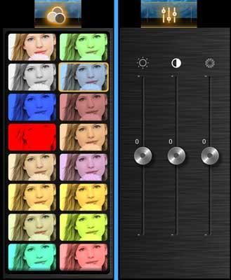 Cambia el brillo, contraste, saturación de color y añade filtros en Kinemaster mientras editas vídeo en Android