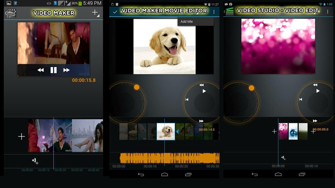 iMovie para Android, ¿existe?