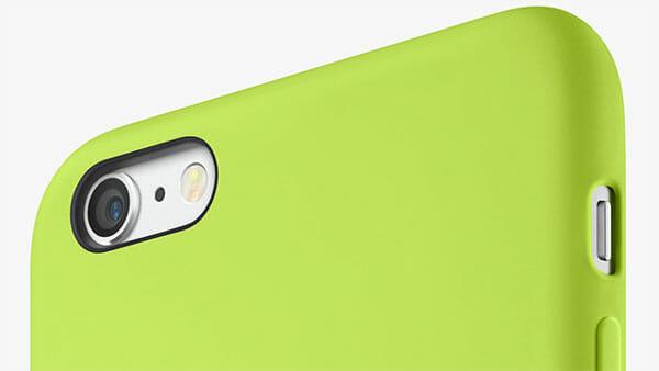 La cámara del nuevo iPhone 6 sobresale un poco del cuerpo del móvil
