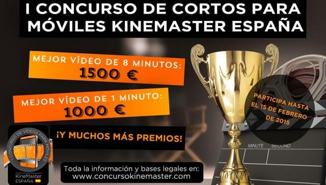 Concurso de Cortos para Móviles Kinemaster España