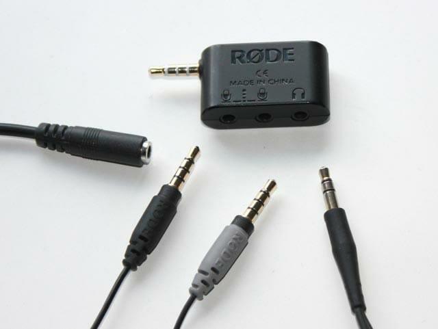 RODE SC6 conexiones