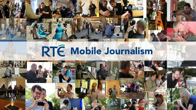 RTE Mobile Journalism