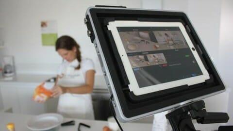 Grabando vídeos con un iPad 4 y RecoStudio el antiguo RecoLive...