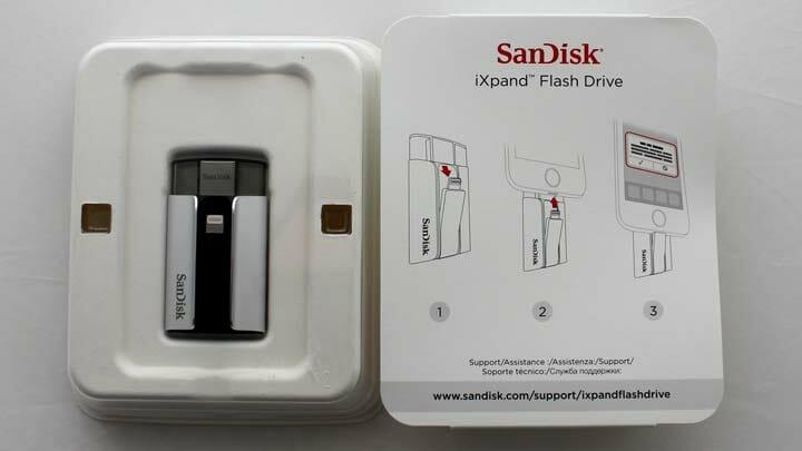Sandisk iXpand es muy fácil de usar, conecta, baja la app Sandisk iXpand y a funcionar