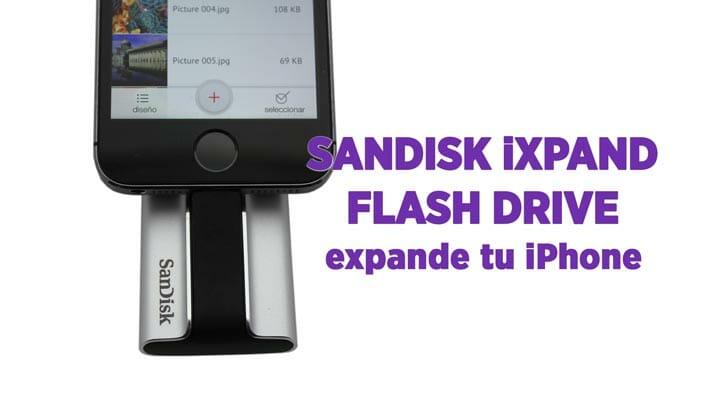Snadisk iXpand accesorio con conector lightning y USB
