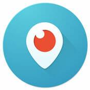 Logo Periscope - Aplicaciones imprescindibles de Android e iOS