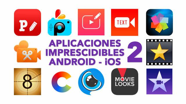 Portada Aplicaciones imprescindibles para grabar vídeo en con teléfonos y tablets en Android e iOS