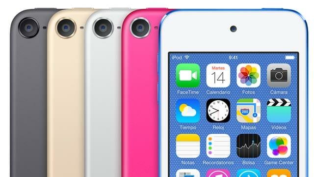 Elige entre varios colores tu nueva cámara, o iPod Touch